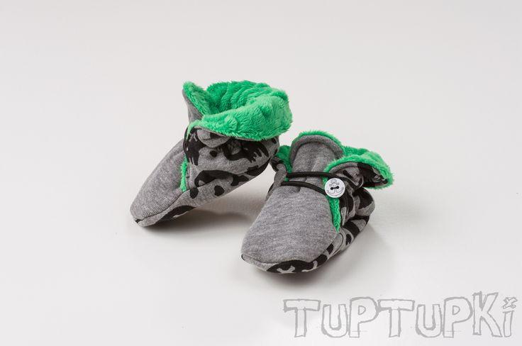 Non-slip sole TupTupki Skull from TupTupki by DaWanda.com