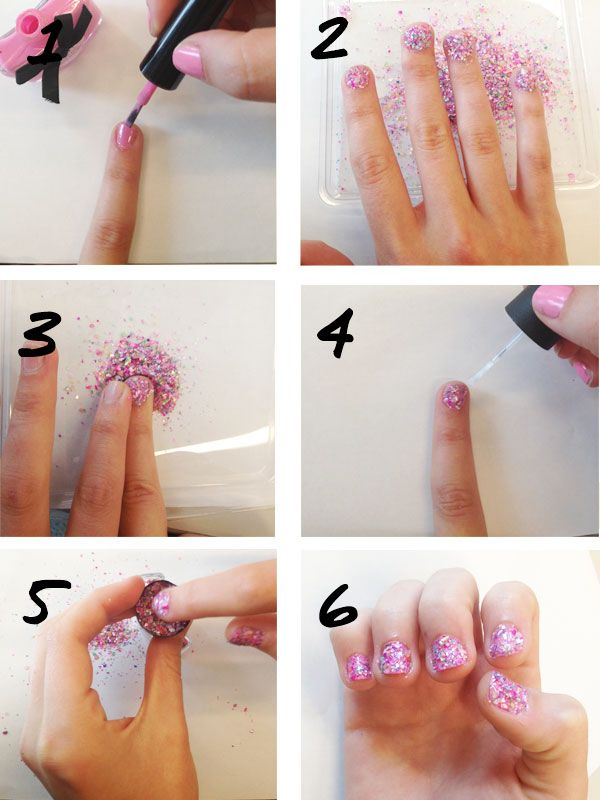 Seashell Manicure How To - Summer Nail Art Tutorial~