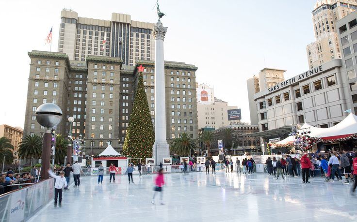 Union Square Ice Skating & Reindeer Romp at Zoo - San Francisco Christmas