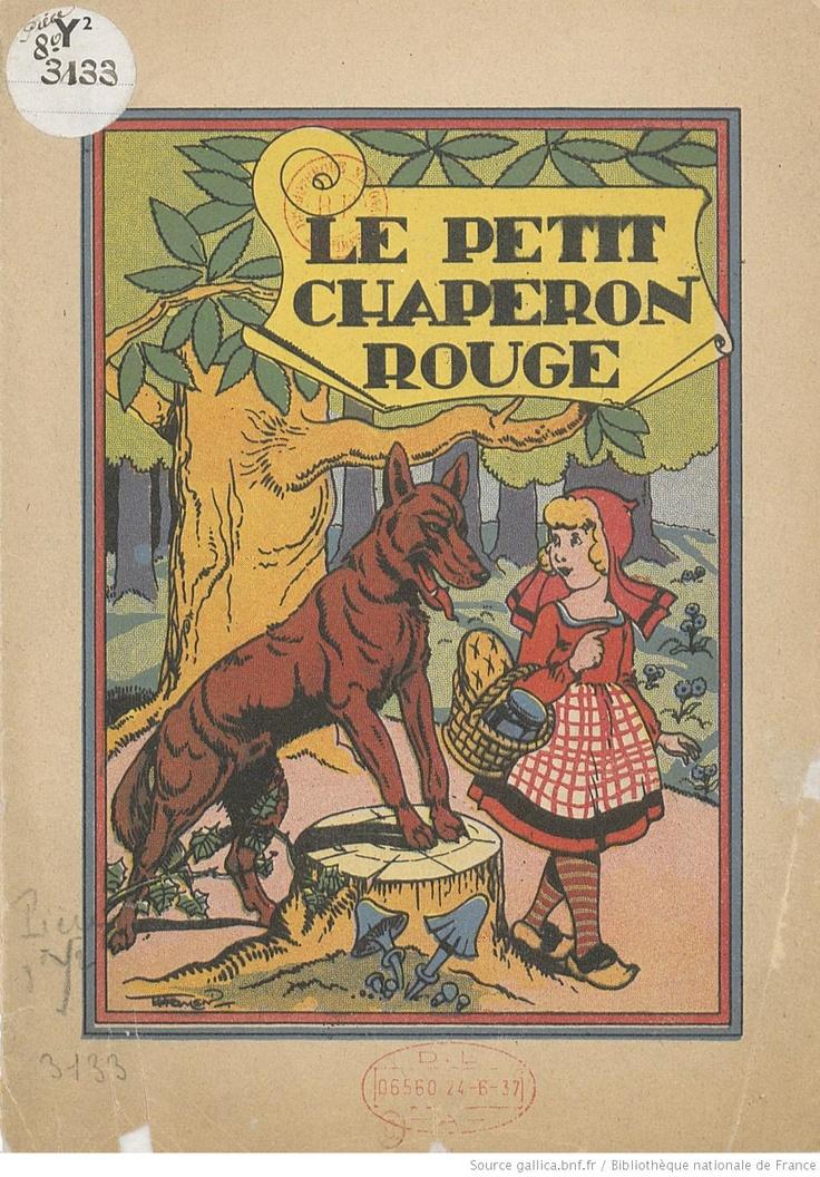 Le Petit Chaperon rouge, 1936 gallica BNF