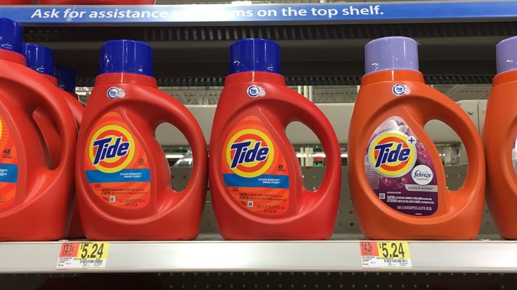 Get to Walmart for low prices on Tide detergents! There are two high-value Tide coupons in the 11/26 P&G newspaper insert. Find coupons valid on both...