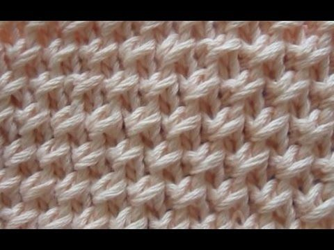 Strickmuster * KETTENMUSTER ideal fuer Anfaenger - YouTube