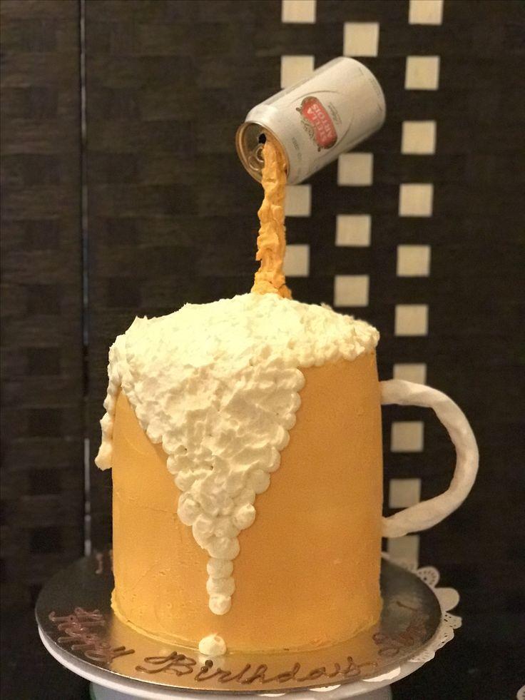 Best 25 Beer Mug Cake Ideas On Pinterest 21st Birthday