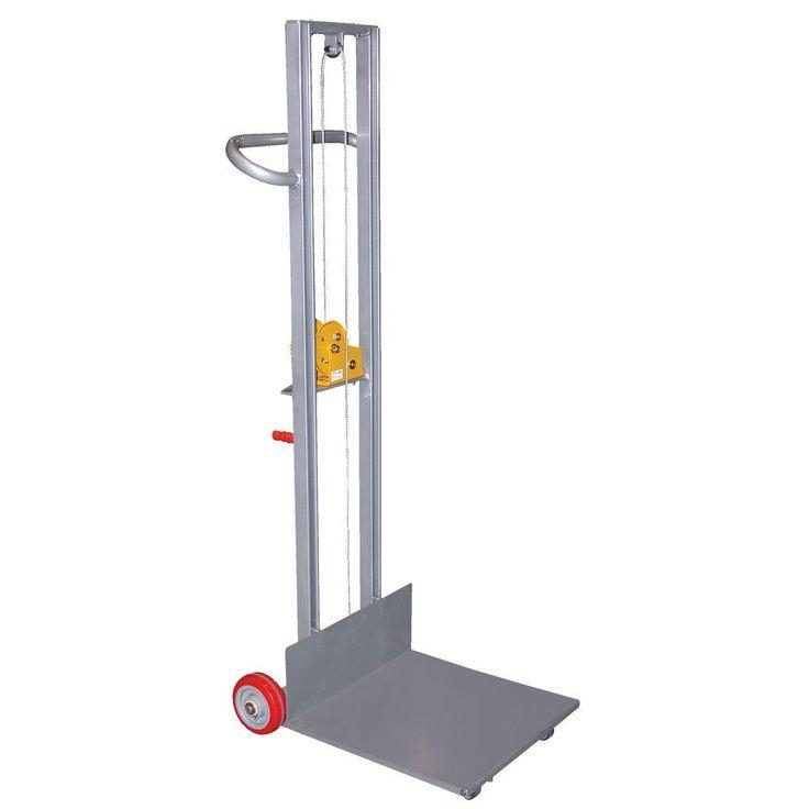 vestil 400 lb aluminum lite load lift with