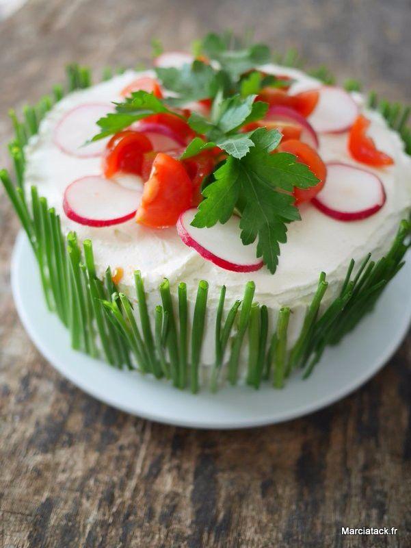 Sandwich cake : pour épater les ais lors d'un brunch ou d'un pique nique !!