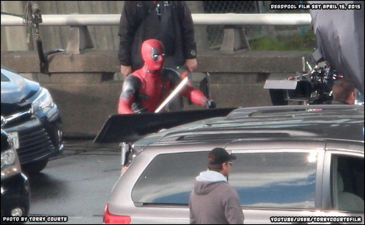Deadpool movie being shot in Vancouver.