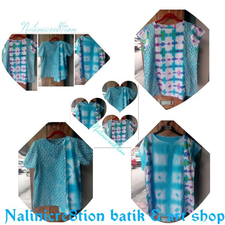 #shibori #blue #tiedye #waxresistdyeing #jumputan #tiedyes #tiedyed #tiedyes #nalincre8tion #yogyakarta #indonesia #handmade #blouse #blousecantik #blousebatik #blousebatikwanita #blousebatiksantai #blousebatiksantai