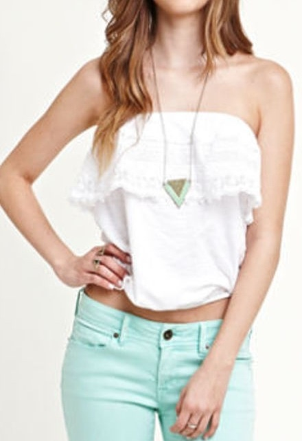 loove this outfit from pacsun, especially the color of the pants and the style of the top