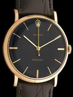 Black/Gold Vintage Rolex - buy mens watches, best mens watches for the price, mens watches uk
