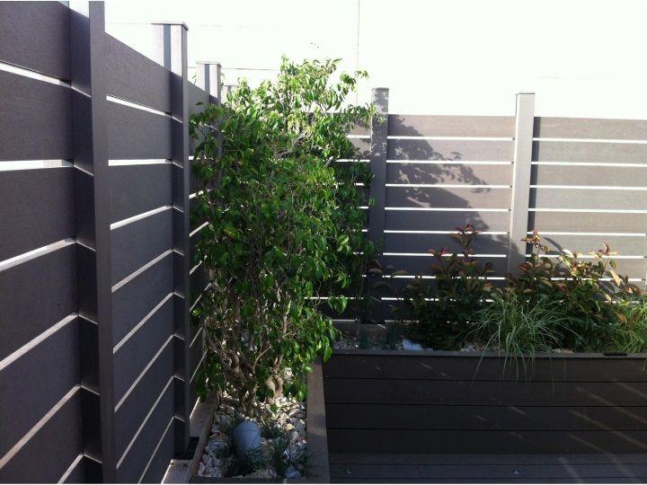 8 best vallas de exterior de madera sinteticas images on - Verjas de madera ...