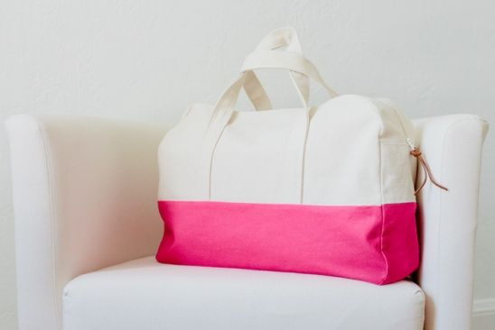 Make Your Getaway Duffle Bag by Vanessa Hewell | Project | Sewing / Bags & Purses | Kollabora