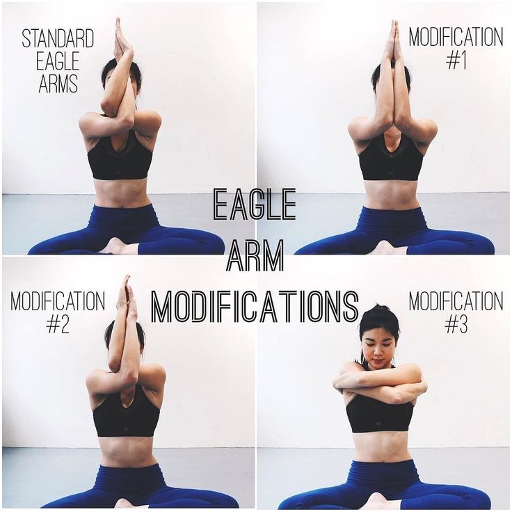 yoga online | Eagle pose yoga, Arm yoga, Relaxing yoga