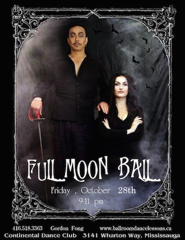 Full Moon Ball: Creative Black Tie | TorontoDance.com