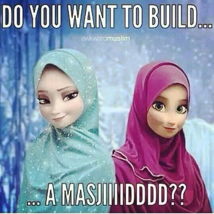 #Frozen#hijabistyle lol cant stop laughing at this