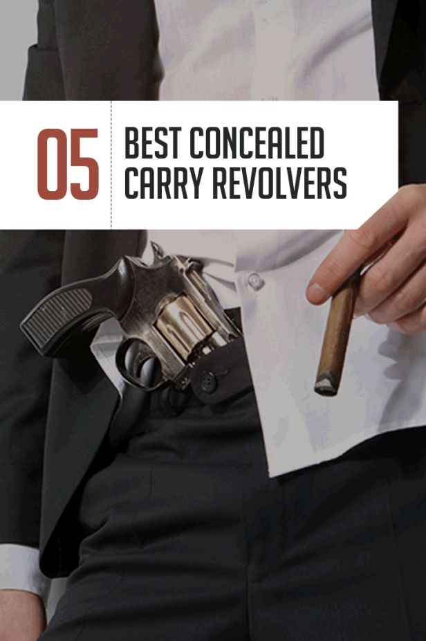 Best Revolver for Concealed Carry by http://guncarrier.com/the-best-revolver-for-concealed-carry-5-top-handguns