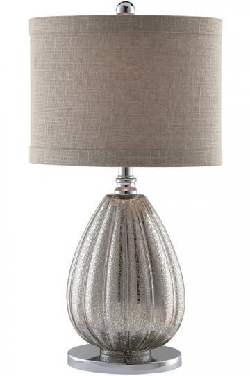 stardust table lamp lampshade only - Mercury Glass Lamps