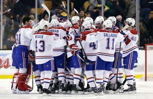 Canadiens stop Bruins' 12-game win streak - Houston Chronicle