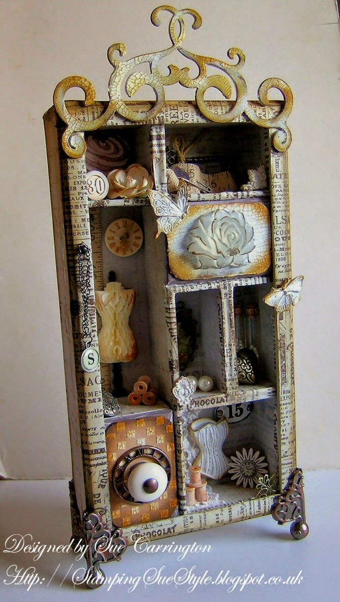 Stamping Sue Style: Getting around to it... http://stampingsuestyle  Shadowbox  IdeasShadow ...