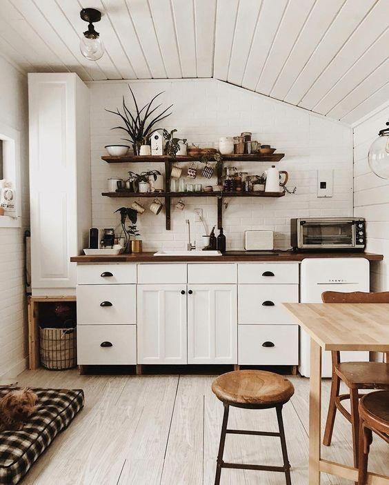 Minimalist Kitchen Design For Small Space: Home. #design #interiordesign #Kitcheninteriordesign