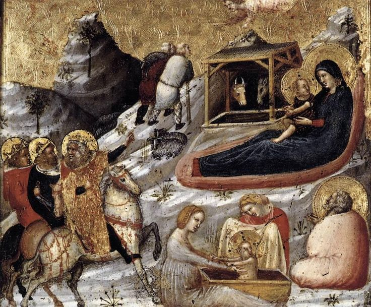 Pietro Da Rimini - The Nativity and Other Episodes from the Childhood of Christ.