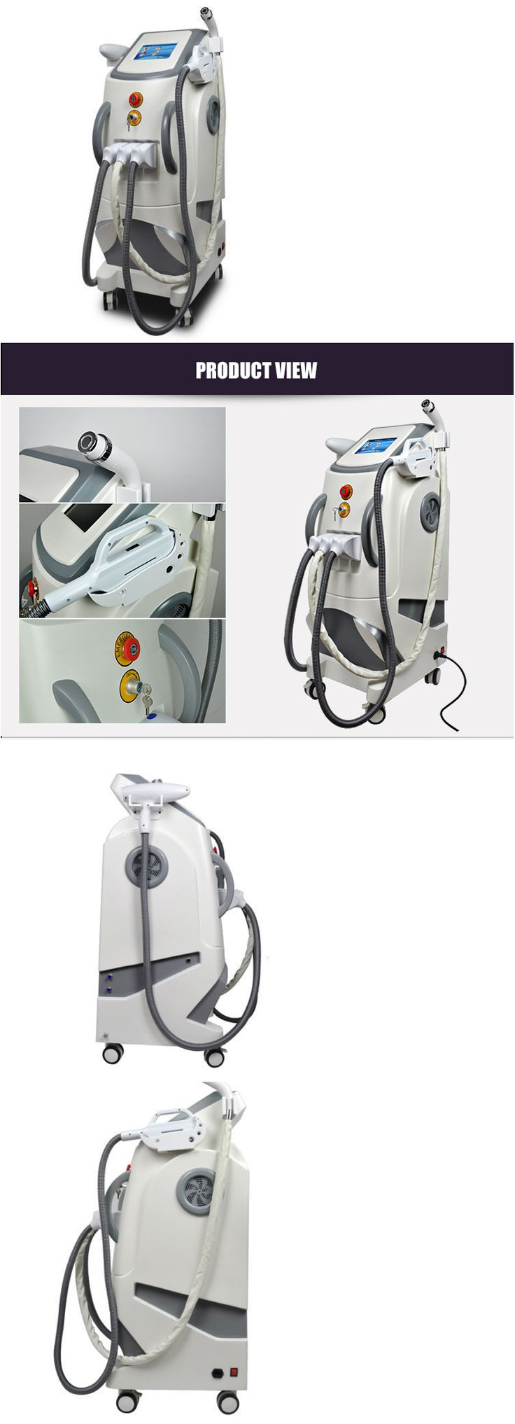 Tattoo Removal Machines: Salon Use Nd Yag Laser Tattoo Spots Removal Machine Ipl Elight Hair Removal Rf -> BUY IT NOW ONLY: $4800 on eBay!