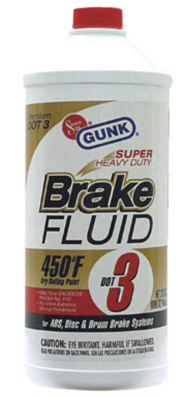 Gunk M4334 Super Heavy Duty Brake Fluid 1 Gallon