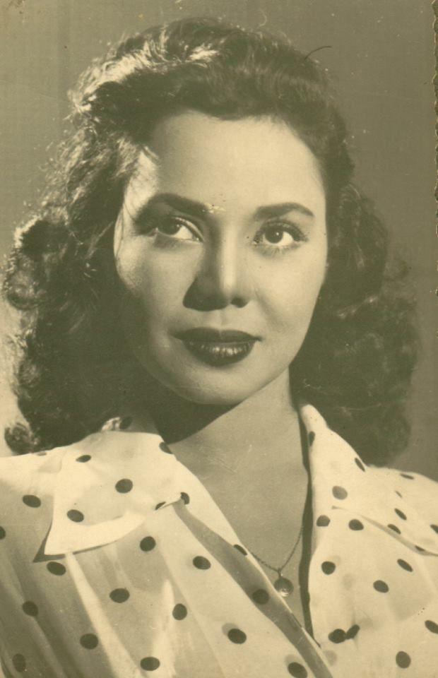 The Egyptian actress Magda