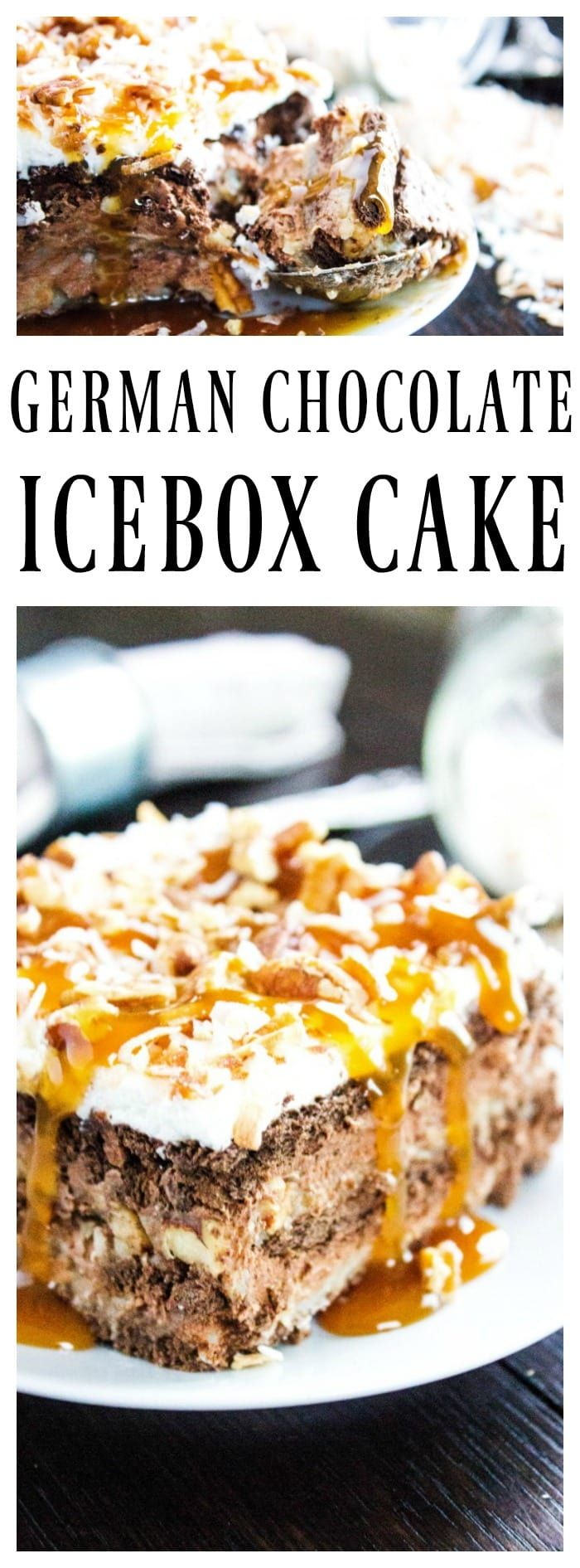 This is a sponsored conversation written by me on behalf of Tate+Lyle® Sugars . The opinions and text are all mine. GERMAN CHOCOLATE ICEBOX CAKE – layers of homemade German Chocolate Frosting, rich & creamy chocolate mousse and chocolate graham crackers topped with homemade whipped cream, pecans and toasted coconut. Are you drooling yet? If …