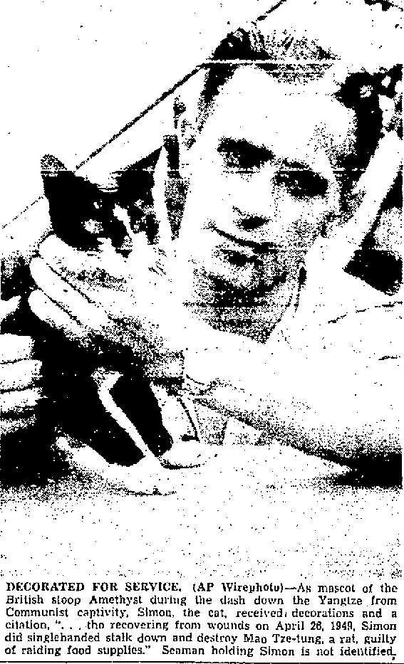 MaritimeQuest - Able Seacat Simon, DM, RN (1947-1949) Page 2