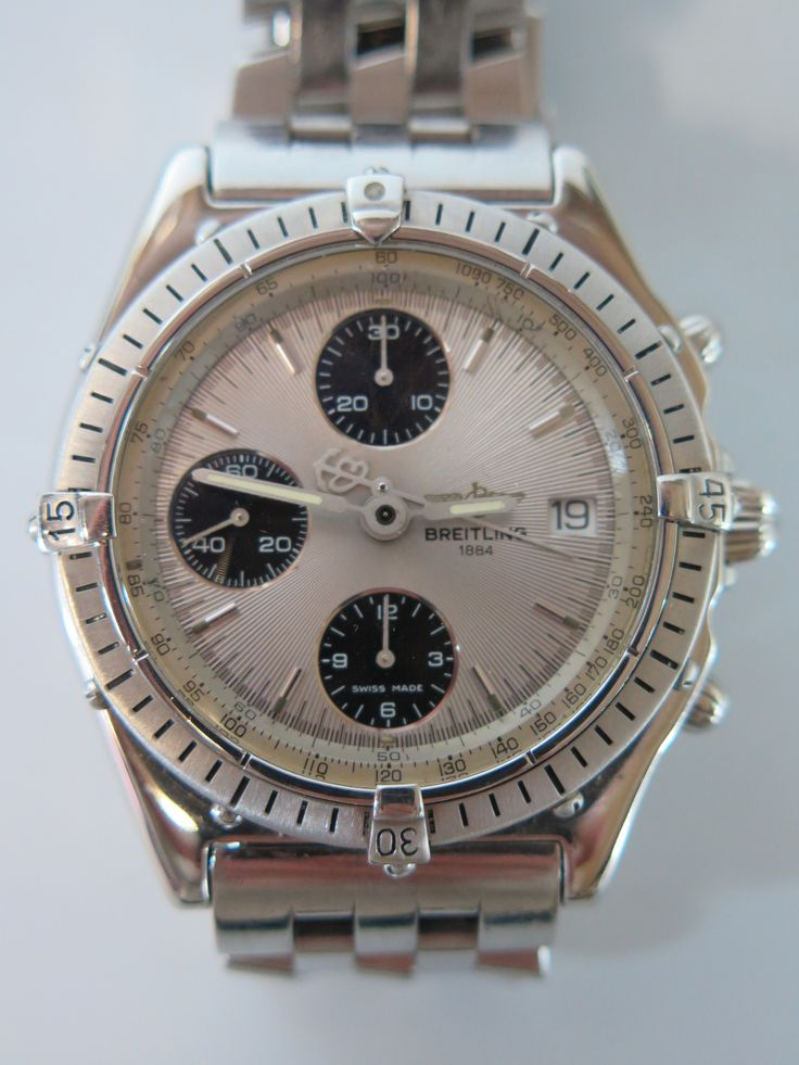 Breitling Gents Wrist Watch Est £150-£200 to be auctioned 15/6/16