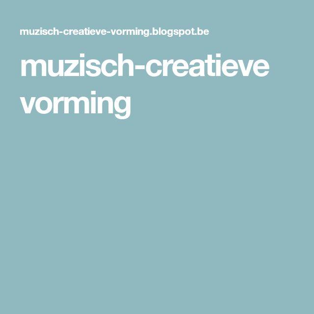 muzisch-creatieve vorming