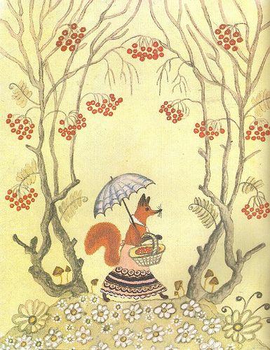 Russian folk tale. Drawings by Yuriy Vasnetsov.