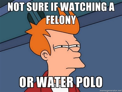Just like it because it has water polo in it!