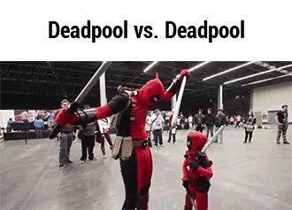 Deadpool vs. Deadpool   http://ift.tt/1XBd9fu via /r/funny http://ift.tt/1TtMVfA  funny pictures