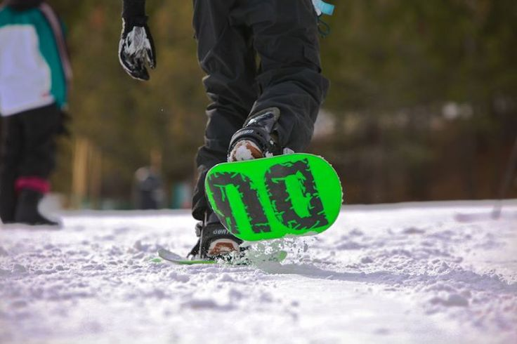 Dual Snow Boards for Snowboarding / The Dual Boards from Dual Electronics offer a new way to go snowboarding. http://thegadgetflow.com/portfolio/dual-snow-boards-snowboarding-286/