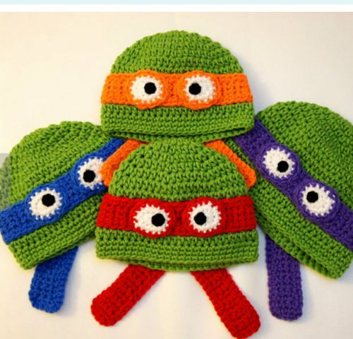 Ninja beanie from new born to older kids (message me color and age) | madewithlovebyfatima - Accessories on ArtFire