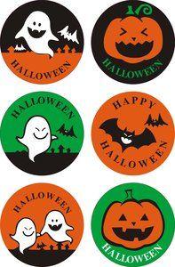 Sealing Stamp Stickers   Happy Halloween