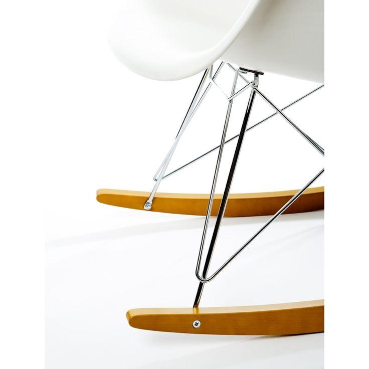 petit fauteuil vitra eames plastic chair rar white rar zoomdesign silveraeshop - Fantastisch Tolles Dekoration Charles Eames Schaukelstuhl