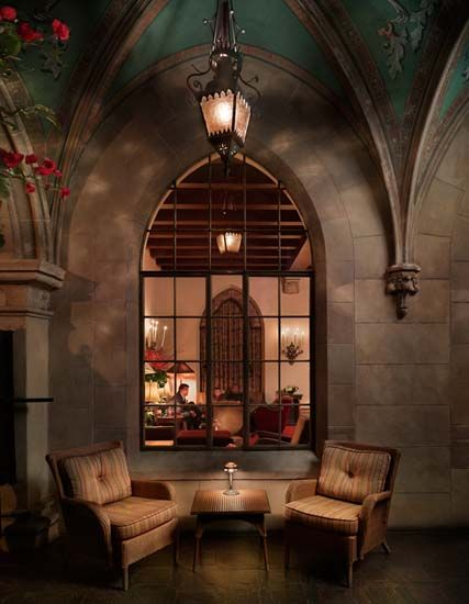 Chateau Marmont, LA-Love this place. If you want to spot celebs, this is where you go, but no cameras allowed. Either way, this place is classic, beautiful, and has a lot of history.