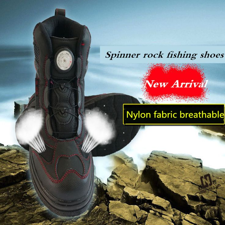 New Spinner rock Fishing Shoes Slip-Resistant Mesh Breathable Sport rock  Fishing Shoes Men Waterproof rock Fishing Waders Shoes free shipping worldwide