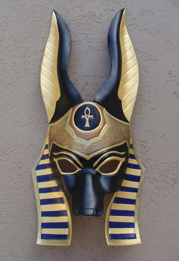 Best 25+ Anubis mask ideas on Pinterest | Egyptian mask, Egyptian ...