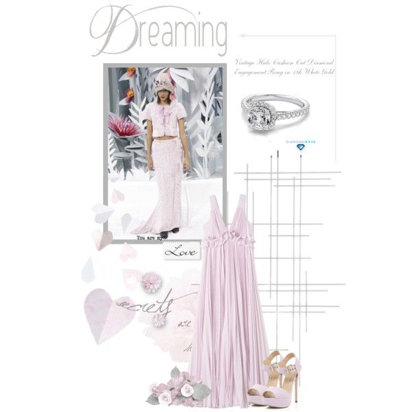diamondwave.com by isatusia on Polyvore featuring moda, Rebecca Taylor, River Island, Crate and Barrel, Chanel and diamondwave