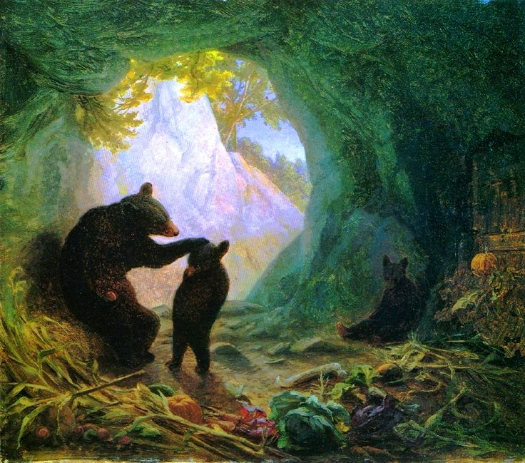 Quot Bear And Cubs Quot By William Holbrook Beard Classic Art