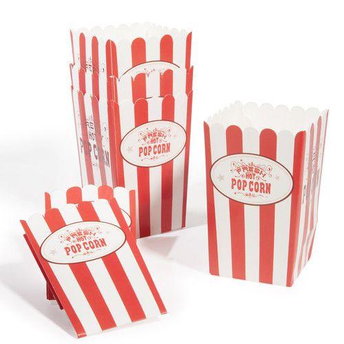 6 Hot popcorn-zakjes