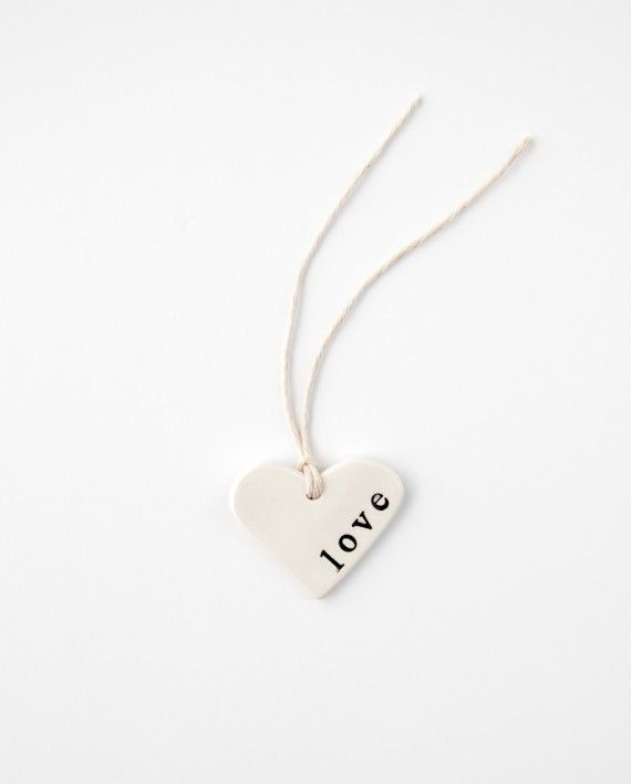 """Gift Tag """"Love"""" Small - Popular as wedding favours too! Available here at http://www.coastalstudio.com.au/product/small-love-gift-tag/"""