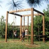 Créer un portique de jeu pour les enfants | Maisonbrico.com