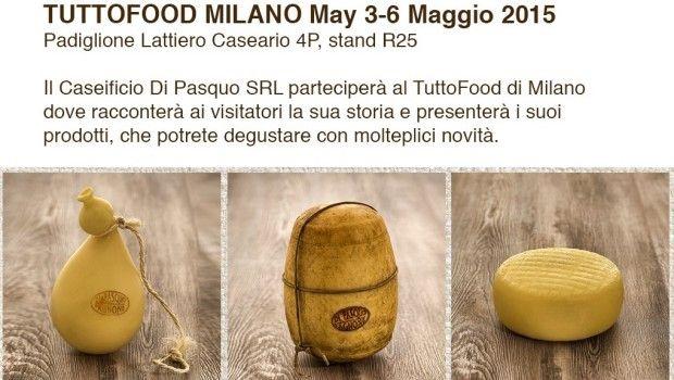 Il Caseificio Di Pasquo di Agnone partecipa al Tutto Food di Milano  #destinazionemolise #molise #expo2015 @Expo2015Milano @expo2015eventi @raiexpo