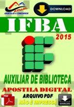 Apostila Digital Concurso IFBA Auxiliar de Biblioteca 2015