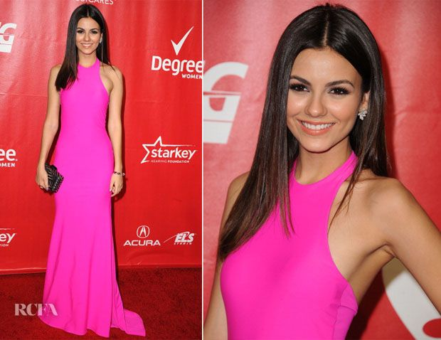 Victoria Justice In Michael Costello – 2014 MusiCares Person Of The Year Honoring Carole King