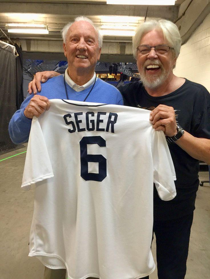 Detroit Tiger, Al Kaline and Bob Seger